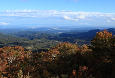 You can see a wonderful view from Iwakagamidaira