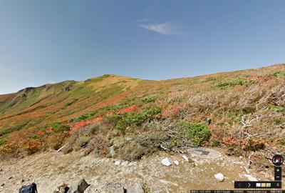 Google Street Viewで擬似登山体験
