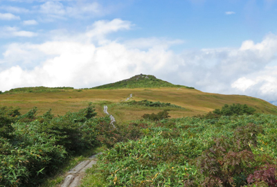 紅葉情報(9月10日)須川・天馬尾根登山道