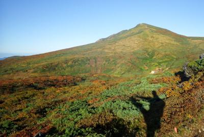 紅葉情報(9月22日)東栗駒登山道