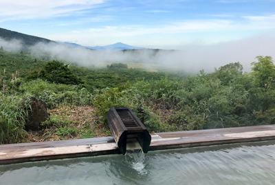 初秋を感じる須川高原